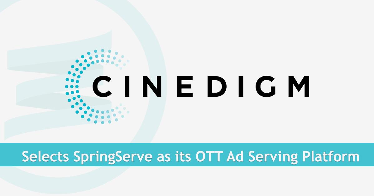 Cinedigm Partners with SpringServe for its Ad Serving Platform