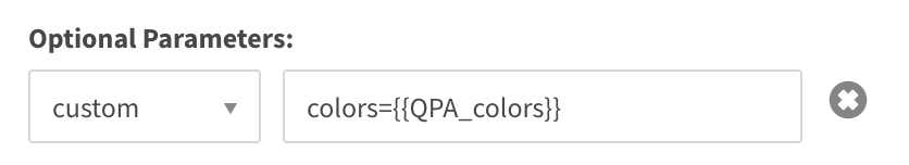 custom optional parameter uses colors={{QPA_colors}}